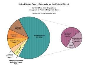 Patent Infringement Appeals